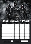Personalised Batman Reward Chart (adding photo option available)